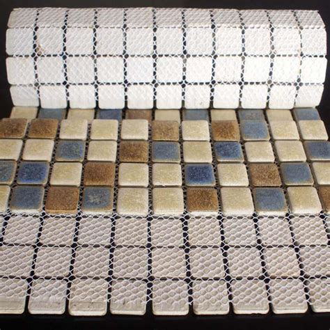 porcelain mosaic floor tiles pattern backsplash hominter