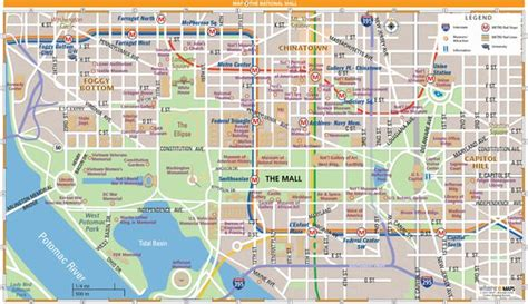 national mall map  washington dc wheretraveler