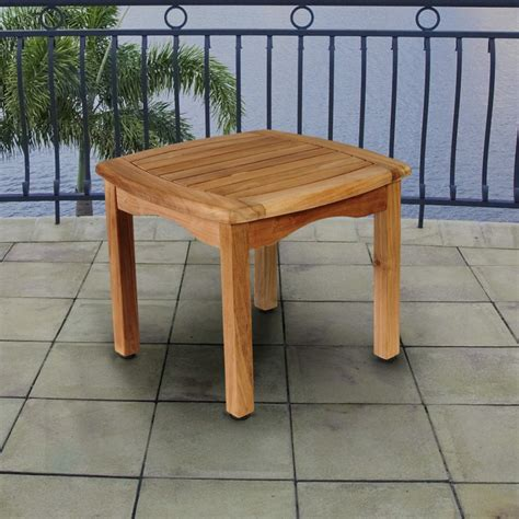 small outdoor pub table teak outdoor and patio furniture ideas founterior