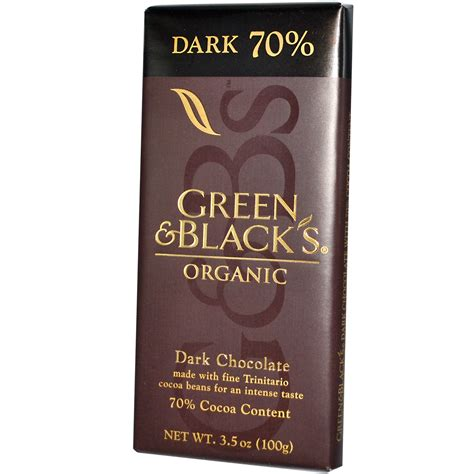 Green & Black Organic Dark Chocolate  Bornstate Food Co