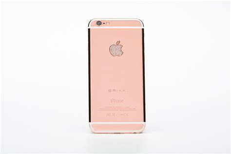 iphone pink gold iphone 6 in white finished in 24k pink gold with