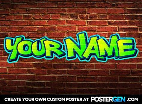 graffiti poster maker funny posters custom posters