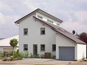 Garage Mit Pultdach : einfamilienhaus mit einliegerwohnung von wolf system haus fertighaus mit lichtdurchfluteten ~ Orissabook.com Haus und Dekorationen