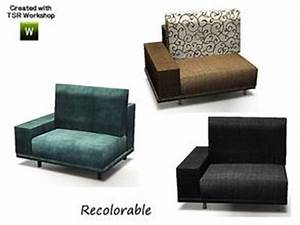 Free sims 3 downloads 39sectional39 for Sims 3 sectional sofa download