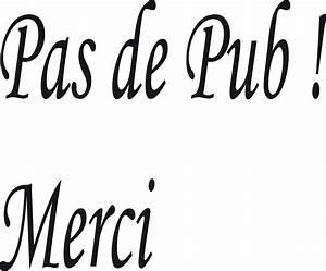 Pas De Pub Merci : pas de pubs merci ~ Dailycaller-alerts.com Idées de Décoration