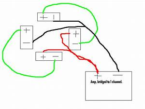 With 2 Single Voice Coil Wire Diagram For Channel Amp Sub