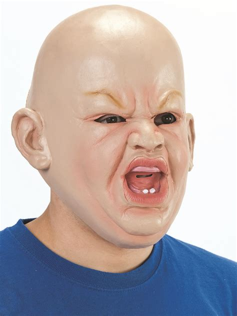 Adult Angry Baby Mask - BM403 - Fancy Dress Ball
