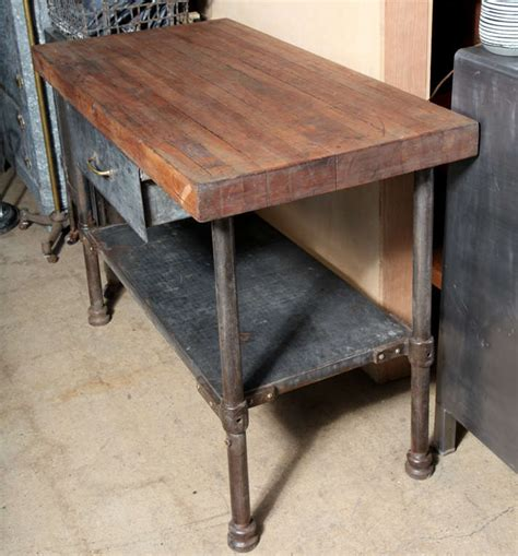 industrial kitchen table vintage industrial kitchen work table at 1stdibs