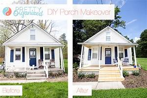 Diy, Porch, Update, A, Pretty, Porch, For, Pennies