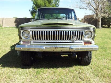 jeep kaiser wagoneer buy new 1969 jeep wagoneer kaiser era rare series 1 cj