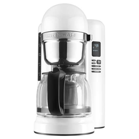 Cleaning indicator light comes on (only applies to select models). KitchenAid KCM1204WH White 12 Cup One Touch Coffee Maker - 120V