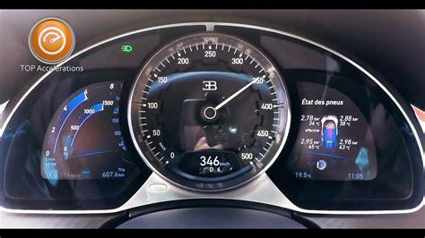 The bugatti chiron sounds like an absolute monster! Bugatti Chiron (1500 HP) Sound & Acceleration 0-350 km/h ...