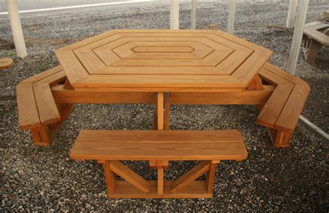 wood picnic tables air hill lawn furniture