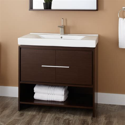 """36"""" Kyra Vanity   Wenge   Wood Vanities   Bathroom"""