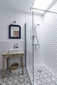 idee decoration salle de bain carrelage metro et With carrelage metro salle de bain