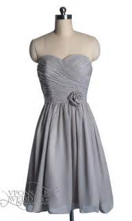 gray bridesmaid dresses strapless sweetheart gray bridesmaid dress dvw0128 vponsale wedding custom dresses