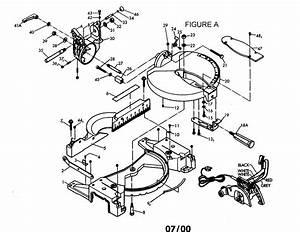 Companion 2 5 Hp 10 U0026quot  Blade Compound Miter Saw Parts