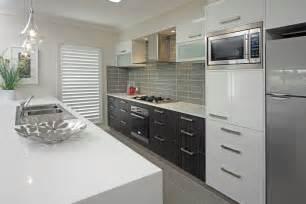 kitchen tiled splashback ideas smart sleek style kitchen
