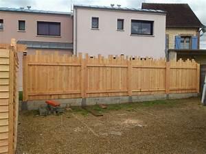 Palissade De Jardin : stunning montage palissade jardin photos awesome ~ Melissatoandfro.com Idées de Décoration