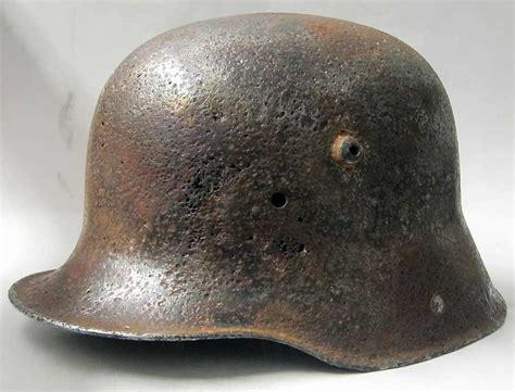 ww1 helmet m16 refurbishment stripped warhats m17