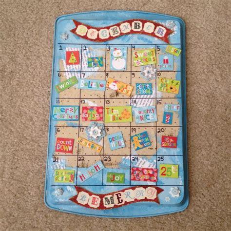 tree dollar cookie sheet magnets cookies christmas cheer paint paper crafts calendar