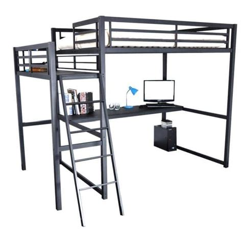 lit mezzanine 2 places avec bureau lit mezzanine 2 places id 233 ale dans une chambre