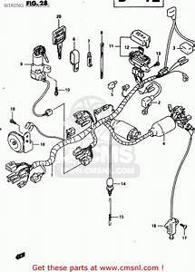 Suzuki Dr650reu 1995  S   E22  Wiring Harness