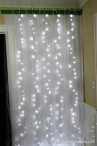 How To Make Your Own Party Lights Easy Diy Photo Booth Photo Booth Backdrop String Lights