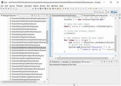 Java Char Example Character Method Tutorial