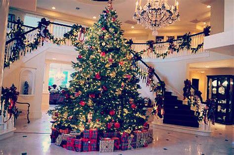 Christmas Winter Lights Home Luxury December House Houses