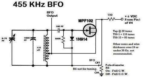 bfo metal detector circuit repository circuits 32340 next gr