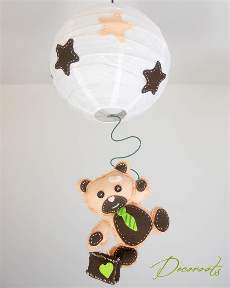 lustre suspension enfant b 233 b 233 l ours tominette enfant