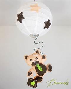 Lustre Bébé Fille : lustre suspension enfant b b l 39 ours tominette enfant b b luminaire enfant b b decoroots ~ Teatrodelosmanantiales.com Idées de Décoration