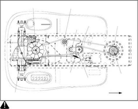 Craftsman Lt2000 Drive Belt Diagram by Solved Replacing The Drive Belt Not Deck Belt 2006 White