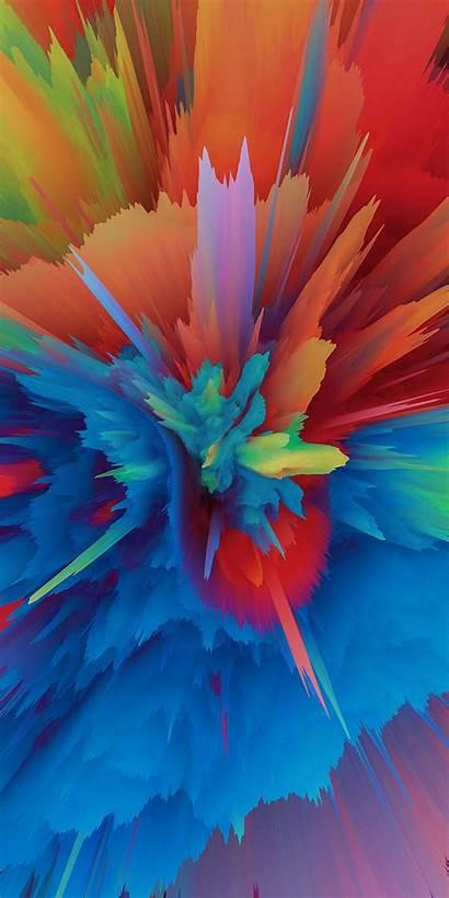 взрывы Colorful Phone Dimensional Explosions Warp Particle
