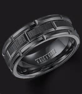 mens black titanium wedding bands the impressive wedding rings for men engagement ring