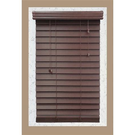 window blinds home depot levolor wood blinds blinds window treatments the
