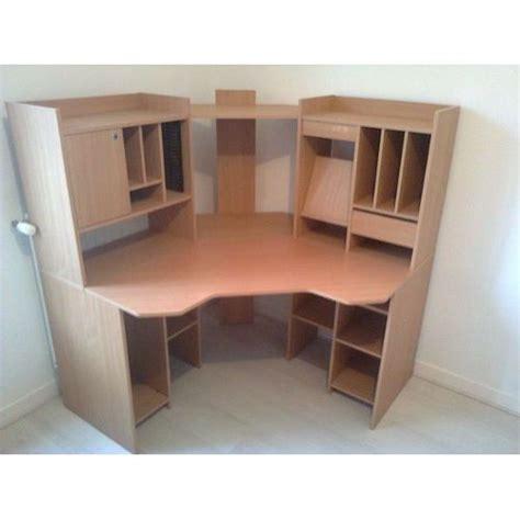 bureau d angle conforama bureau d angle couleur merisier achat et vente