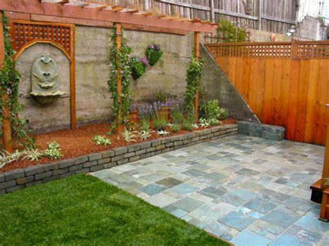 Brick Wall Garden Designs, Decorating Ideas,