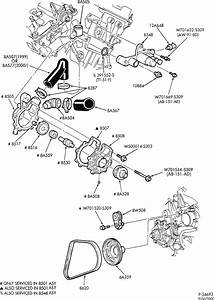 Do You Have A Diagram Of The Coolant Hoses Like A Picture