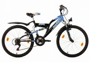 Leichtes Kinderfahrrad 24 Zoll : fully jugend mountainbike 24 zoll blau schwarz 18 gang ~ Jslefanu.com Haus und Dekorationen