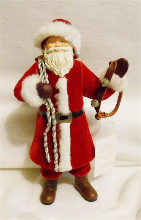santa figure hallmark quot father christmas quot large 12 quot tall