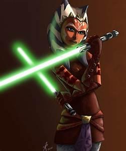 Ahsoka Tano: padawan learner - Star wars Jedi Fan Art ...