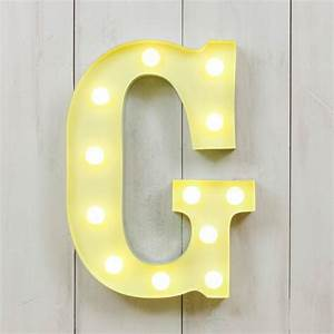 g vegas metal 11quot mini led letter lights light up With small led letters