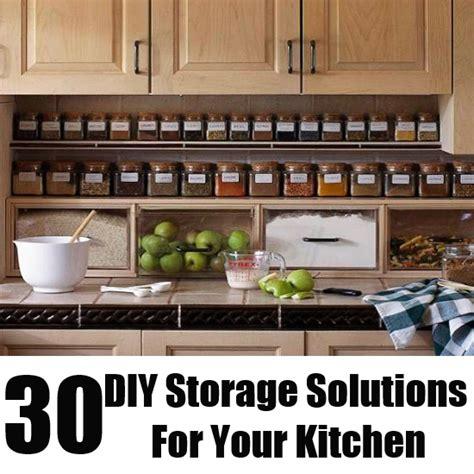 diy kitchen storage solutions 30 diy storage solutions for your kitchen diy home 6865