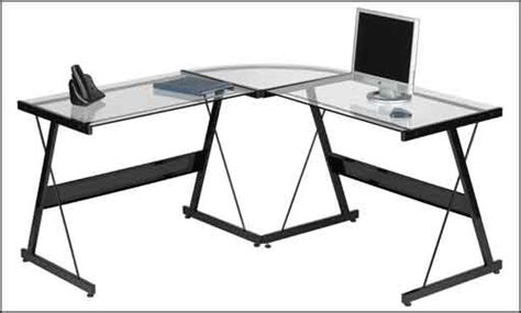 Glass Corner Desk Office Depot by Contemporary Computer Desk