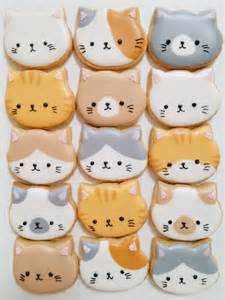 cookie cats 25 best ideas about cat cookies on kawaii