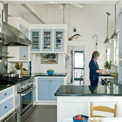 subtle beach themed kitchen  beautiful beach cottages