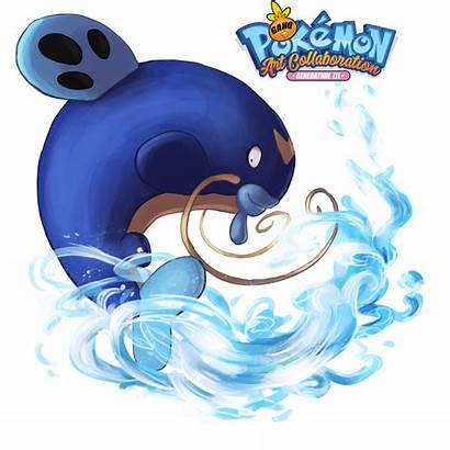 Whiscash Pokemon Tail Aqua Using Tribute Generation