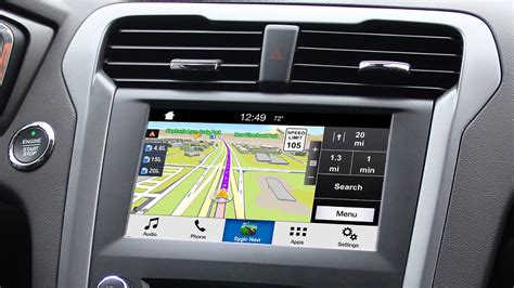 Ford Sync Maps by New Ford Sync Applink Smartphone To Dash Projection For